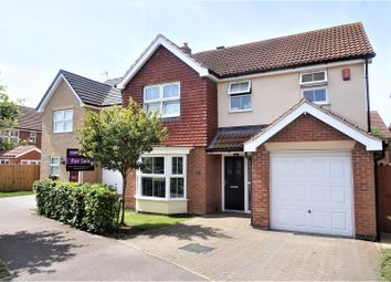 Thumbnail 4 bed detached house for sale in Brocklesby Avenue, Immingham