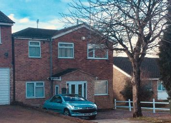Thumbnail 4 bed detached house for sale in Rosamund Avenue, Leicester