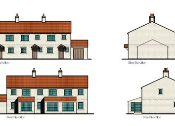 Thumbnail 3 bed end terrace house for sale in Plot 3, Cow Lane, Womersley