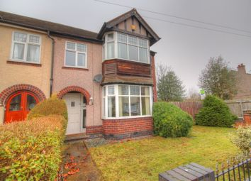 Thumbnail 4 bedroom end terrace house for sale in Grenville Avenue, Coventry
