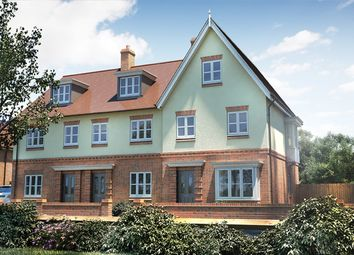 """Thumbnail 3 bed property for sale in """"The Holnicote"""" at Winchester Road, Boorley Green, Botley"""