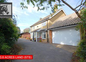 Thumbnail 3 bed detached house for sale in Darroll House, Ranyard Lane, Asterby