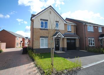 Thumbnail 4 bed detached house to rent in Saxon Drive, Newport