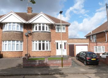 Thumbnail 3 bed semi-detached house for sale in Fallowfield Road, Leicester