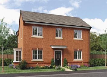 "Thumbnail 4 bedroom detached house for sale in ""Repton"" at Leeds Road, Thorpe Willoughby, Selby"