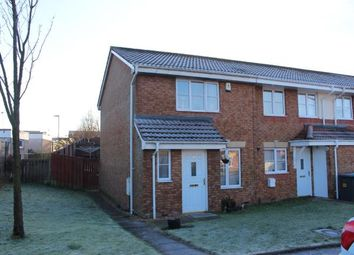 Thumbnail 3 bed end terrace house for sale in Cherry Avenue, Abronhill, Cumbernauld, North Lanarkshire