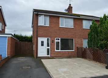 Thumbnail 3 bedroom semi-detached house for sale in Elm Drive, Market Drayton