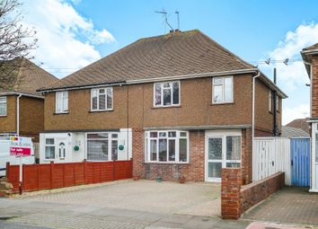 Thumbnail 3 bed semi-detached house for sale in Marlow Avenue, Eastbourne