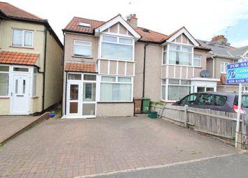 Thumbnail 4 bed semi-detached house for sale in Brinkley Road, Worceser Park, Surrey