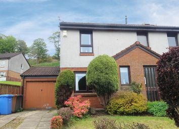 Thumbnail 2 bed semi-detached house for sale in Woodcroft Avenue, Largs, Ayrshire