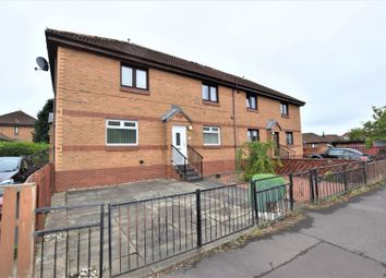 Thumbnail 2 bed flat for sale in Lockhart Drive, Glasgow