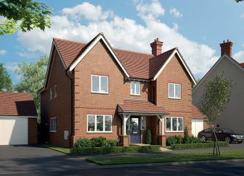 Thumbnail 4 bedroom detached house for sale in Tadpole Rise, Tadpole Garden Village, Swindon