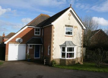 Thumbnail 4 bed detached house for sale in Glessing Road, Stone Cross, Pevensey, East Sussex
