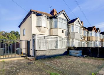 Thumbnail 3 bed end terrace house to rent in Hadleigh Road, Edmonton, London