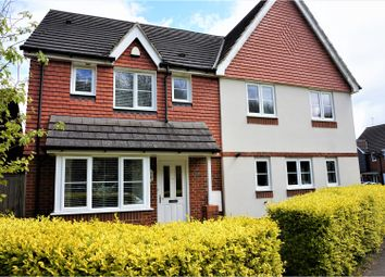 Thumbnail 3 bed semi-detached house for sale in Roman Way, Maidstone