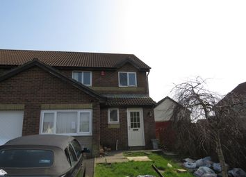 Thumbnail 3 bed semi-detached house for sale in Ffordd Briallu, Llansamlet, Swansea