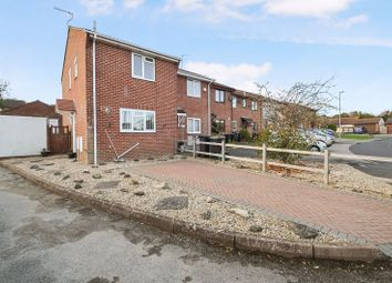 Thumbnail 2 bed terraced house for sale in Two Bedroom, End Terraced House, Stonechat Close, Broadwey With Parking & Garage