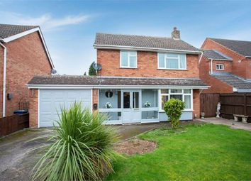 Thumbnail 3 bed detached house for sale in Woodhurst Close, Tamworth, Staffordshire