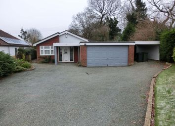 Thumbnail 3 bed detached bungalow for sale in Station Road, Wythall, Birmingham