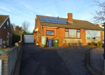 Thumbnail 3 bed semi-detached bungalow to rent in Tudor Road, Hednesford, Cannock