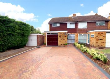 Thumbnail 3 bed semi-detached house for sale in Long Barn Close, Watford