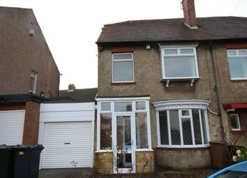Thumbnail 3 bed semi-detached house to rent in Windsor Road, Monkseaton, Whitley Bay