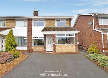 Thumbnail 3 bed semi-detached house for sale in Llewelyn Drive, Bryn-Y-Baal, Mold