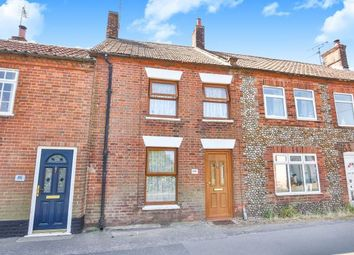 Thumbnail 2 bedroom terraced house for sale in Briston, Melton Constable, Norfolk