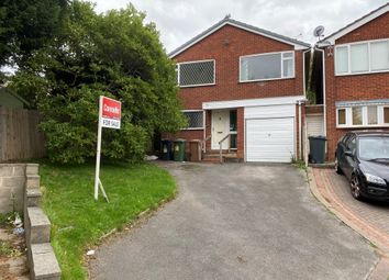 Thumbnail 4 bed detached house for sale in Launceston Close, Walsall