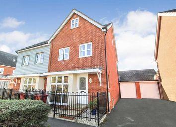 Thumbnail 4 bed semi-detached house for sale in Dariel Close, Slough, Berkshire