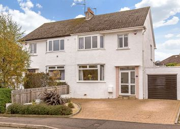 Thumbnail 3 bedroom semi-detached house for sale in 109 Silverknowes Gardens, Edinburgh