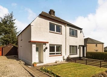 Thumbnail 2 bedroom semi-detached house for sale in West Road, Kilbarchan, Johnstone