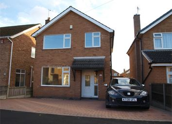 Thumbnail 3 bed detached house for sale in Field Close, Hilton, Derby