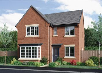 """Thumbnail 4 bedroom detached house for sale in """"Hampton"""" at Burton Road, Streethay, Lichfield"""