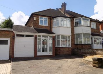 Thumbnail 3 bed semi-detached house for sale in Denewood Avenue, Handsworth Wood, Birmingham