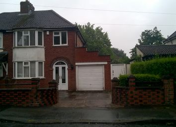 Thumbnail 3 bed semi-detached house to rent in Hatton Crescent, Wednesfield