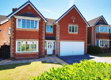 Thumbnail 5 bed detached house for sale in Chadbury Close, Lostock