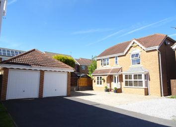 Thumbnail 4 bed detached house for sale in Chilcott Close, Coalville, Leicestershire