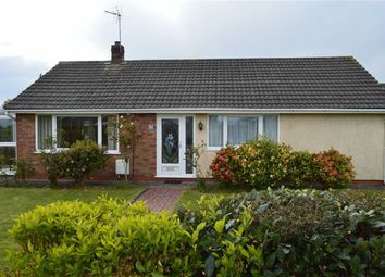 Thumbnail 3 bed detached bungalow for sale in Hawkstone Close, West Cross, Swansea