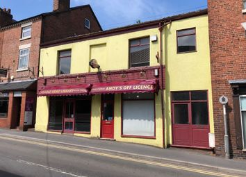 Thumbnail Retail premises for sale in 41 Chapel Street, Cheadle, Stoke-On-Trent, Staffordshire