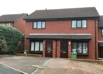 Thumbnail 2 bed terraced house to rent in Ilex Close, Exeter