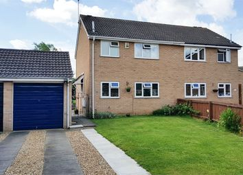 Thumbnail 3 bedroom semi-detached house for sale in Oleander Crescent, Cherry Lodge, Northampton