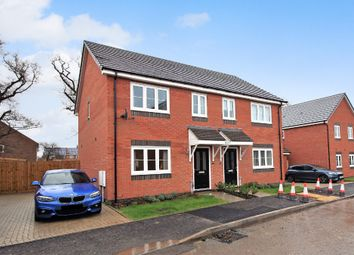 Thumbnail 3 bed semi-detached house for sale in Aries Drive, Shawbury, Shrewsbury
