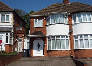Thumbnail 3 bed semi-detached house for sale in Sandringham Road, Great Barr, Birmingham, West Midlands