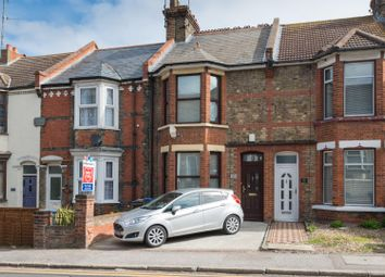 Margate Road, Ramsgate CT11. 3 bed terraced house for sale