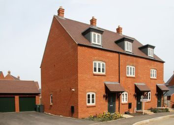 Thumbnail 3 bed town house for sale in Talbot Close, Brackley