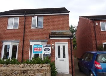 Thumbnail 2 bed semi-detached house for sale in High Town, Longframlington, Morpeth