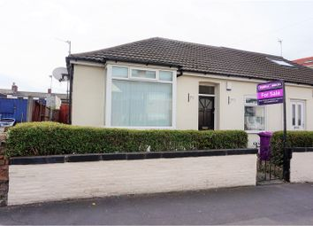 Thumbnail 2 bed semi-detached bungalow for sale in Derwent Road West, Liverpool
