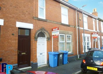 Thumbnail 6 bed terraced house to rent in Stanley Street, Derby