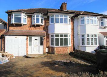 Thumbnail 4 bed semi-detached house to rent in Elmbridge Avenue, Surbiton